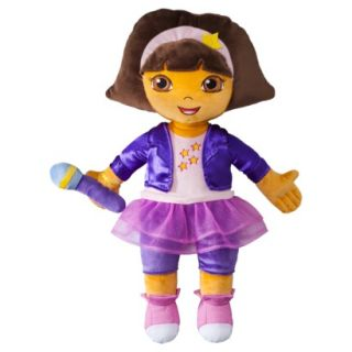 Dora the Explorer Rock Star  Plush Cuddle Pillow