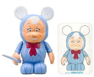 "Fairy Godmother by Maria Clapsis   Disney Vinylmation ~3"" Animation Series #1 Designer Figure (Disney Theme Parks Exclusive) Toys & Games"