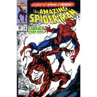 The Amazing Spider man #362 (Carnage Part Two) Vol. 1 May 1992 David Michelinie, Mark Bagley Books