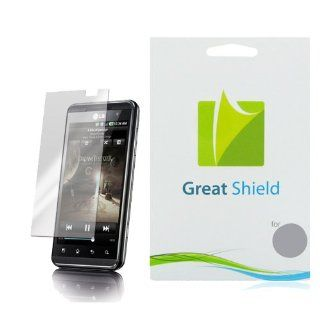 GreatShield Ultra Anti Glare (Matte) Clear Screen Protector Film for LG Thrill 4G / LG Optimus 3D (3 Pack) Cell Phones & Accessories