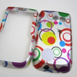 Hard Phone Cases Covers Skins Snap on Faceplate Protector for Samsung Sch r375c R375c Straight Talk Colors Polka Dots (Wholesale Price) Cell Phones & Accessories