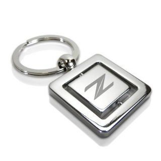 Nissan 370Z Z Logo Chrome Swivel Key Chain Automotive