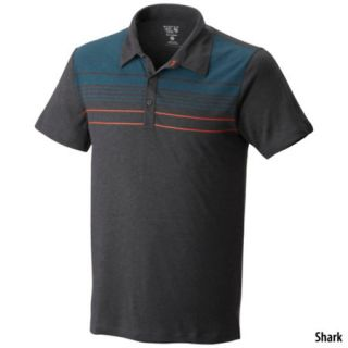 Mountain Hardwear Mens Frequentor Short Sleeve Stripe Polo Shirt 704260