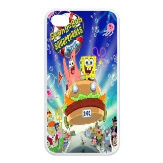 Mystic Zone SpongeBob SquarePants iPhone 4 Case for iPhone 4/4S Cover Famous Cartoon Fits Case KEK1061 Cell Phones & Accessories