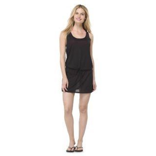 Juniors Cover up Swim Dress  Black S