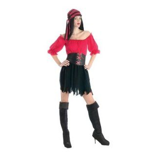 Pirate Wench of the Seven Seas Womens Halloween Costume Clothing