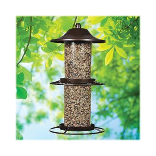 Woodstream Lawn & Garden Perky Pet Panorama Bird Feeder Patio & Outdoor Decor