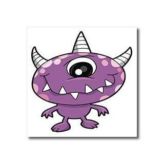 ht_102295_2 Dooni Designs Monsters and Alien Designs   Cute Purple People Eater Monster Cartoon Character   Iron on Heat Transfers   6x6 Iron on Heat Transfer for White Material Patio, Lawn & Garden