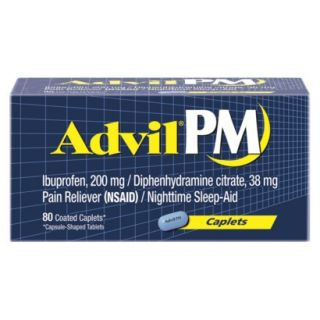 Advil®PM Pain Reliever and Nighttime Sleep Aid