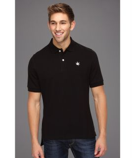 Boast Core Pique Polo Shirt Mens Short Sleeve Pullover (Black)