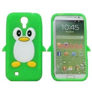 Tinkerbell Trinkets� Samsung Galaxy S4 SIV i9500 GREEN Penguin Cute Animal Silicone / Skin / Case / Cover / Shell / Protector / Cellphone / Phone / Smartphone / Accessories. Cell Phones & Accessories