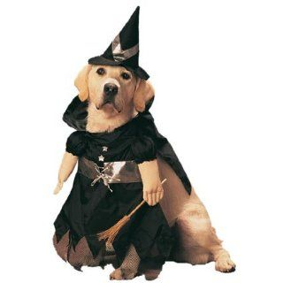 Pet Witch Dog Halloween Costume For Medium Dogs Clothing