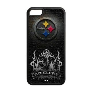 Custom Pittsburgh Steelers Cover Case for iPhone 5C IP 26253 Cell Phones & Accessories