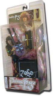 "Led Zeppelin Jimmy Page 7"" Action Figure Toys & Games"