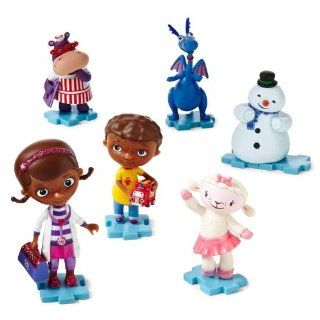 Disney Doc McStuffins Collectible 6 Piece Figurine Playset Juego de Estatuillas Toys & Games
