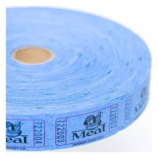 Blue Meal Ticket Roll Toys & Games