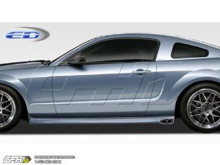 2005 2013 Ford Mustang Polyurethane Eleanor Side Skirts Rocker Panels   2 Piece Automotive