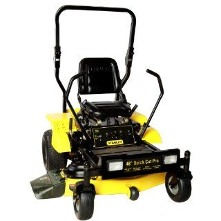 STANLEY 48ZS2 48 Inch Heavy Duty Zero Turn Riding Mower with FR600V Rollbar Powered Kawasaki Engine  Patio, Lawn & Garden