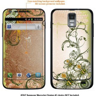 Protective Decal Skin Sticker for Samsung Galaxy S II Skyrocket (AT&T Model) case cover Skyrocket 447 Cell Phones & Accessories