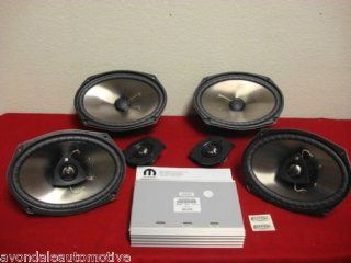 Chrysler 300 KICKER Speaker Upgrade W/Amp, OEM Mopar Automotive