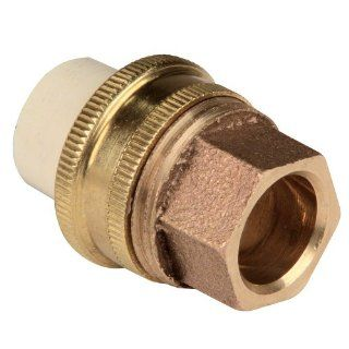 NIBCO 4733 Series CPVC and Brass Pipe Fitting, Union, Slip x Solder Industrial Pipe Fittings