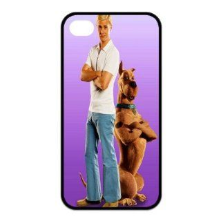 Mystic Zone Customized Scooby iPhone 4 Case for iPhone 4/4S Cover Funny Cartoon Fits Case KEK0182 Cell Phones & Accessories