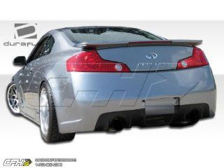 2003 2007 Infiniti G Coupe G35 Duraflex C Sport Rear Bumper Cover   1 Piece Automotive