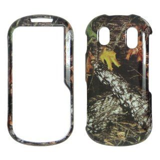 Samsung Intensity 2 U460 Verizon   Camo Camouflage Leaves and Big Branch Shinny Gloss Finish Hard Plastic Cover, Case, Easy Snap On, Faceplate. Cell Phones & Accessories