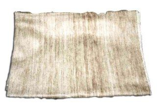 100% Alpaca Wool Baby Blanket Soft and Silky Natural Wool Light Taupe Color Cream Background   Childrens Blankets