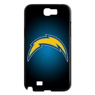 NFL San Diego Chargers Custom Case For Samsung Galaxy Note 2 N7100 fashion Phone Case Cell Phones & Accessories