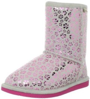 BEARPAW Betsey Pull On Boot (Little Kid/Big Kid), Hot Pink, 10 M US Toddler Shoes