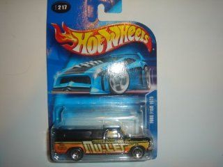 2003 Hot Wheels Ford F150 1979 Black #2003 217 Toys & Games