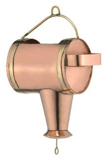 Good Directions 489P Watering Can Leader for Rain Chain, Polished Copper  Patio, Lawn & Garden