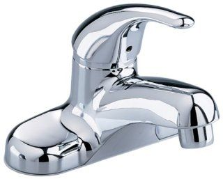 American Standard 2175.505.002 Colony Soft Single Control Lavatory Faucet with Speed Connect with Pop Up Hole and Rod and Button, Chrome   Touch On Bathroom Sink Faucets