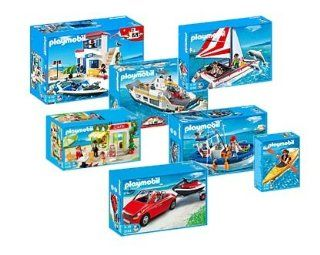 Playmobil Harbour Set Deluxe 5127 5128 5129 5130 5131 5132 5133 Toys & Games