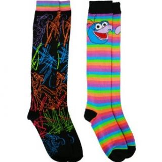 The Muppets Gonzo Women's Knee High Socks Set (2 Pair) Clothing