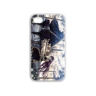 Design Iphone 4/4S Anime Series megurine luka vocaloid anime Black Case of Hard Case Cover For Guays Cell Phones & Accessories