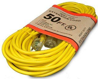 Commercial 50 Feet Hospital Grade Vacuum Cleaner Extension Cord   Xtension Cord