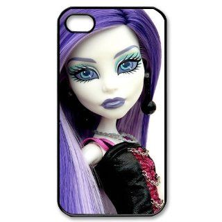 Custom Monster High Cover Case for iPhone 4 4s LS4 2917 Cell Phones & Accessories