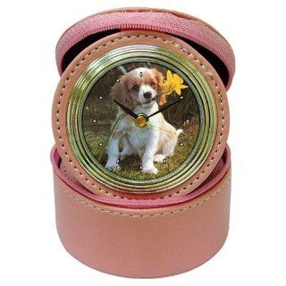 Shop English Springer Spaniel Jewelry Case Travel Clock at the  Home D�cor Store. Find the latest styles with the lowest prices from Good Guy Watches & Accessories