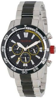 red line Men's RL 60011 Cruiser Chronograph Black Dial Two Tone Stainless Steel Watch at  Men's Watch store.