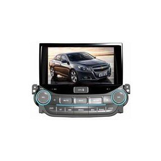 Eagle for 2012 2013 Chevrolet Malibu Car GPS Navigation DVD Player Audio Video System with Radio (AM/FM), Bluetooth Hands Free, USB, AUX Input, (free Map), Plug & Play Installation  In Dash Vehicle Gps Units