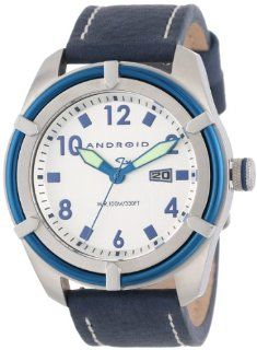 ANDROID Men's AD531BBUS Naval Analog Japanese Quartz Blue Watch at  Men's Watch store.