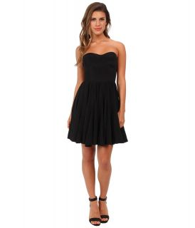 Rebecca Taylor Perfect Fit Strapless Dress Womens Dress (Black)