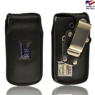 LG Wine III 3 UN530 Turtleback Heavy Duty Leather Phone Case with Removable Metal Clip Health & Personal Care