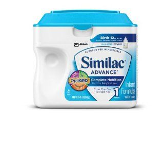 Similac Advance Infant Formula, Powder, 23.2 Ounces (Pack of 6) (Packaging May Vary) Health & Personal Care