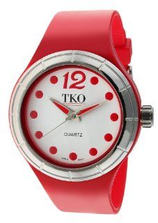 TKO ORLOGI Women's TK531 RD Candy Collection Fun Colorful Rubber Watch at  Women's Watch store.