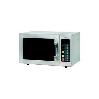 Panasonic NE 1064F 1000 Watt Stainless Steel Commercial Microwave Kitchen & Dining
