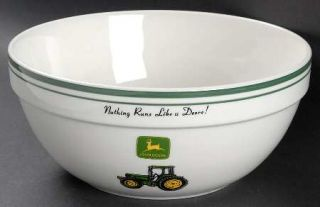 Gibson Designs John Deere (Tractor) Mixing Bowl, Fine China Dinnerware   Green&Y