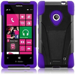 INSTEN For Nokia Lumia 521 T Stand Case Black /Purple Other Electronics